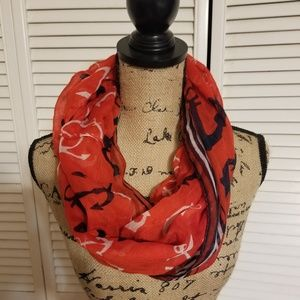 Accessories - Infinity scarf with anchors